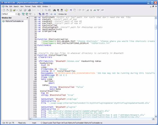 Creating Application Installers for MAXScripts