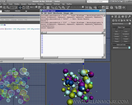 Maxscript for beginners 1 scriptspot for 3d max lessons for beginners