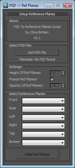 PSDtoRefPlanes