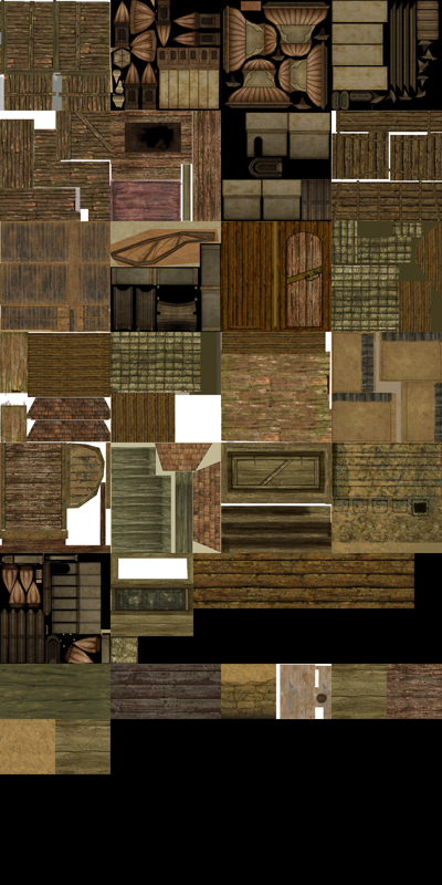 Example of a texture atlas
