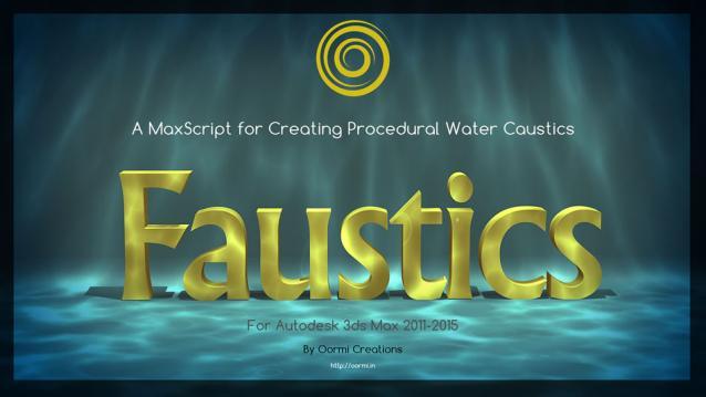 i0n1c50ft: Faustics Max Script for 3ds Max 2011 - 2015