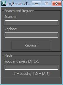 Tagged 'free maxscript'   ScriptSpot