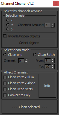 Channel Cleaner 1.2