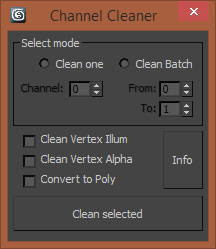 Channel Cleaner