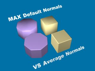 Poly Average Normals